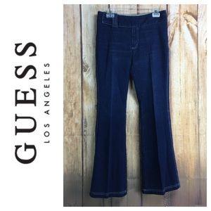 💸Guess Flare Leg denim trouser in size 29